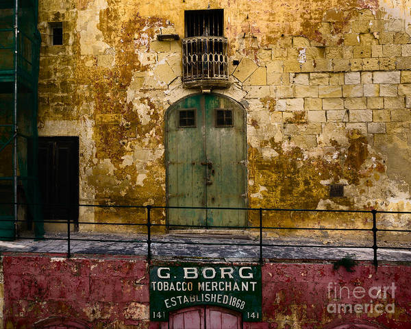 Tobacco Wall Art - Photograph - Established 1868 by Julian Cook