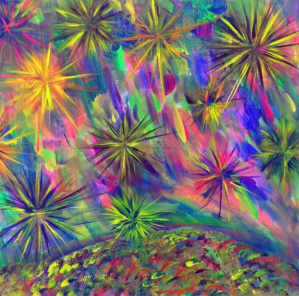 Painting - Estaraleight by Cyryn Fyrcyd