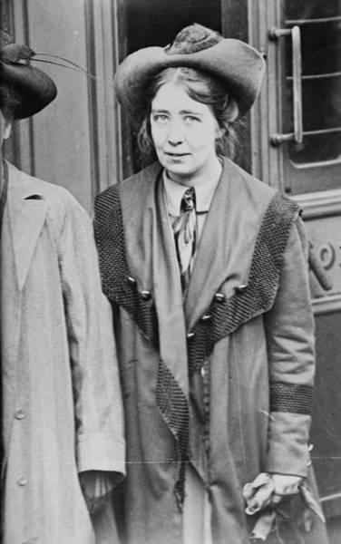 Photograph - Estelle Sylvia Pankhurst (1882-1960) by Granger