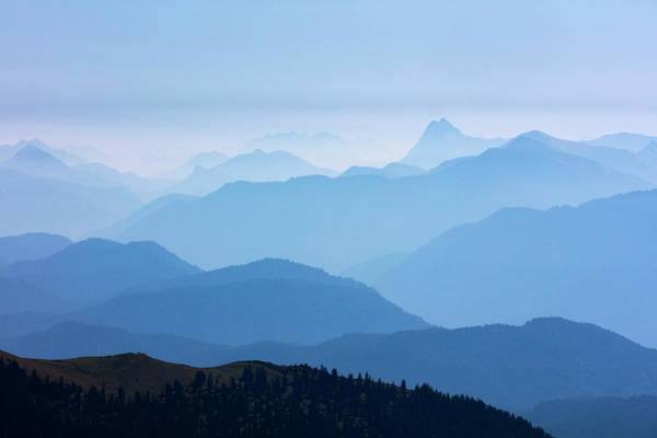 Wall Art - Photograph - Ester Mountains by Michael Szoenyi/science Photo Library