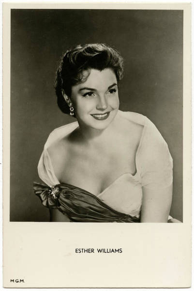 Wall Art - Photograph - Esther Williams (1921 - 2013), American by Mary Evans Picture Library