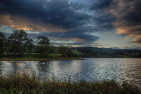 Wall Art - Photograph - Esthwaite Water by Graham Moore