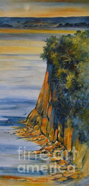 Painting - Estuary Outlook by Julia Blackler