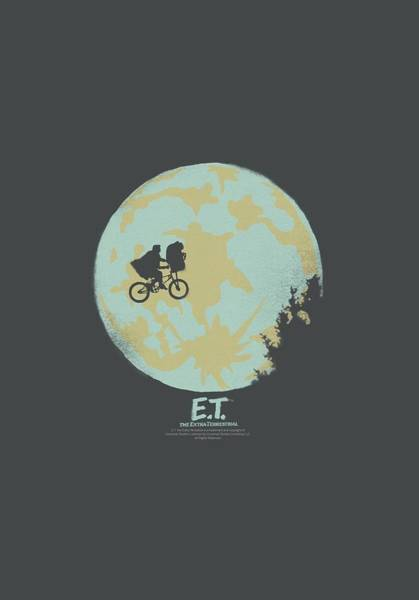 Et Digital Art - Et - In The Moon by Brand A