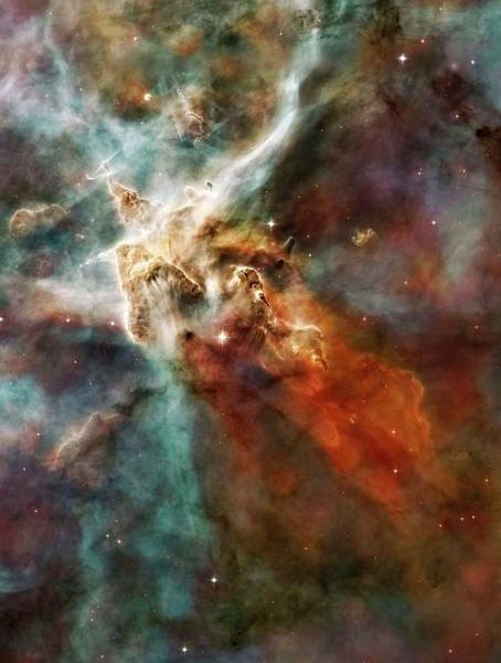 Wall Art - Photograph - Eta Carinae Nebula by Nasaesan. Smith (university Of California, Berkeley)hubble Heritage Team (stsclaura)