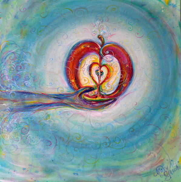 Endless Love Painting - Eternal Potential  by Mary Margaret Driedger