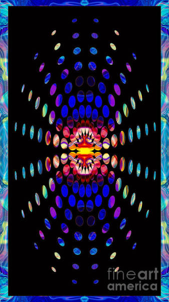 Digital Art - Eternal Rays Of Hope Abstract Healing Artwork by Omaste Witkowski