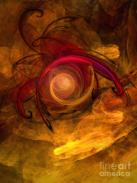 Translucent Digital Art - Eternity Of Being-abstract Expressionism by Karin Kuhlmann