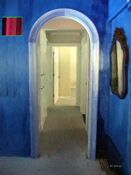 Painting - Eternity's Antechamber by RC DeWinter