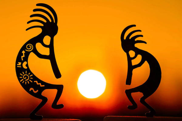 Kokopelli Photograph - Eternity's Sunrise by Mitch Cat