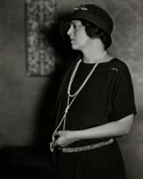 Ethel Barrymore Art Print by Nickolas Muray
