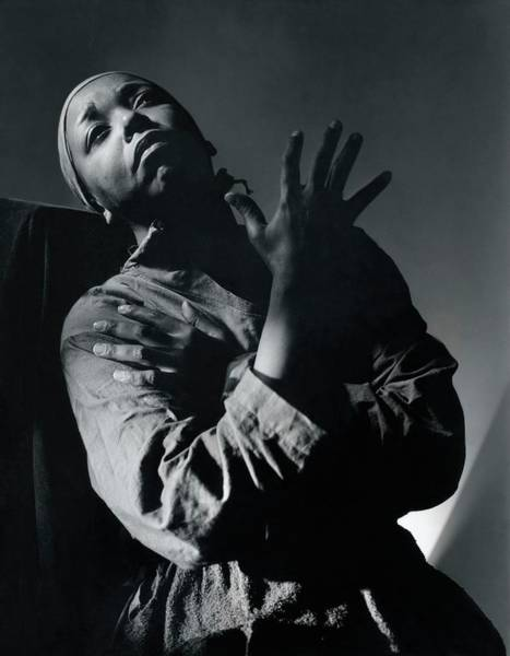 1939 Photograph - Ethel Waters As Hagar In Mambas Daughters by Horst P. Horst