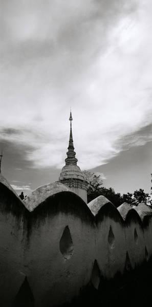 Photograph - Ethereal Wat Suan Dok by Shaun Higson
