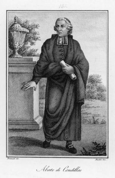 1715 Drawing - Etienne Bonnot De  Condillac  French by Mary Evans Picture Library