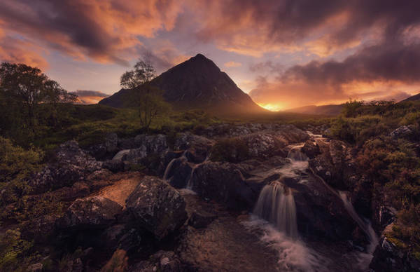 Wall Art - Photograph - Etive Mor by Javier De La