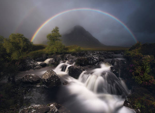 Wall Art - Photograph - Etive Rainbow by Antonio Prado P?rez
