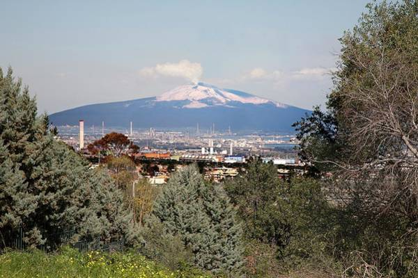 Etna And Industry Art Print