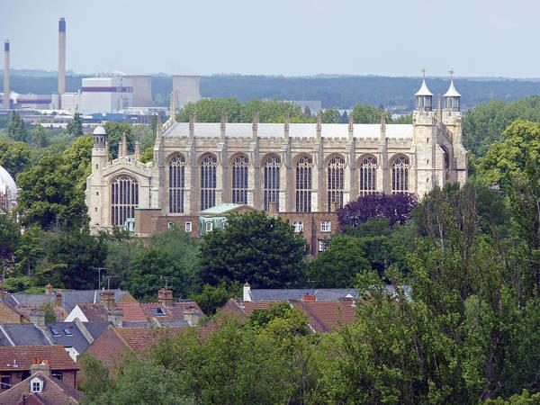 Photograph - Eton College Chapel by Tony Murtagh