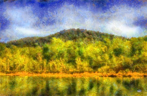 Digital Art - Etowah Reflections by Daniel Eskridge