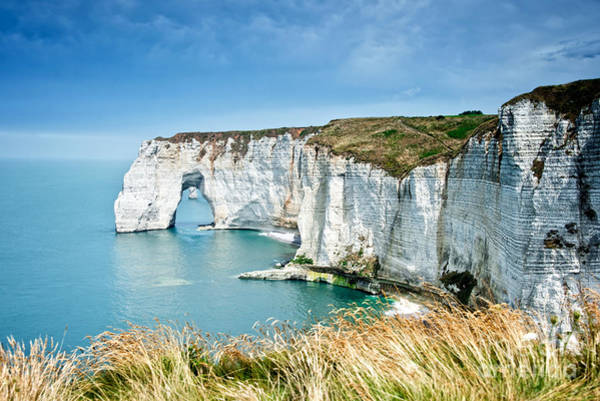 Geological Photograph - Etretat by Delphimages Photo Creations
