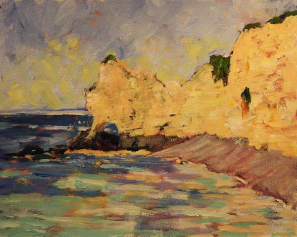 Painting - Etretat by Tara Moorman