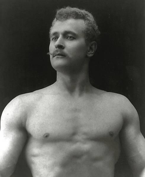 Physique Photograph - Eugen Sandow by American Photographer
