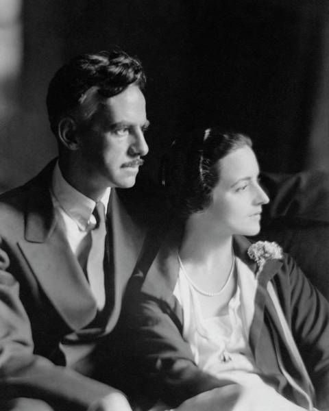 Husband Photograph - Eugene O'neill And His Wife Carlotta Monterey by Ben Pinchot