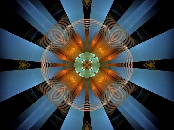 Dive Bar Digital Art - Eunomia-center-panel-2bb by Bill Campitelle