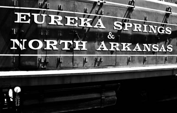 Eureka Springs Photograph - Eureka Springs Railroad by Benjamin Yeager