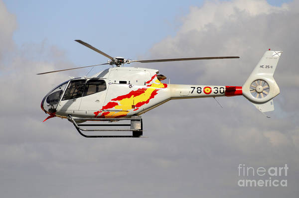 Colibri Photograph - Eurocopter Ec120 Helicopter by Riccardo Niccoli
