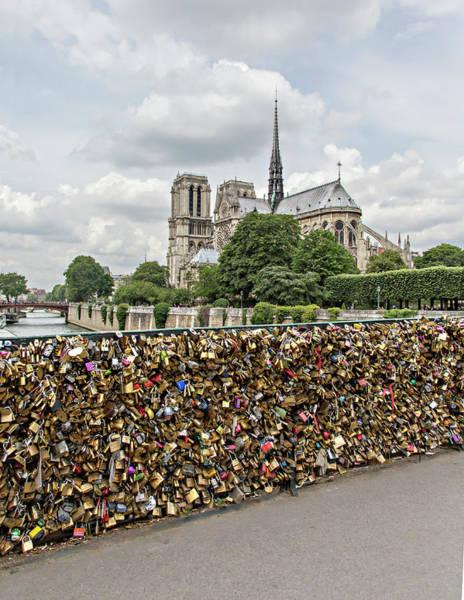 Charles Bridge Photograph - Europe, France, Paris by Charles Sleicher