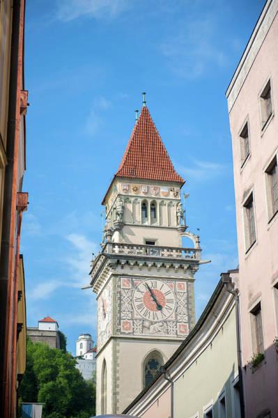 Wall Art - Photograph - Europe, Germany, Bavaria, Passau, Town by Jim Engelbrecht