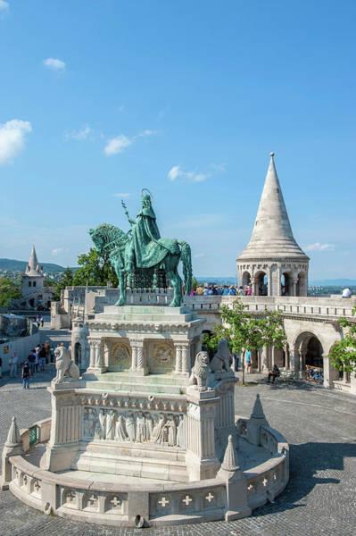 Buda Photograph - Europe, Hungary, Budapest, Fisherman's by Jim Engelbrecht