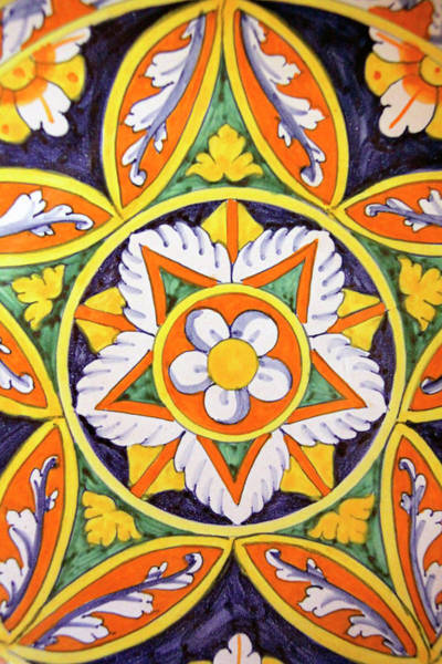Ceramics Wall Art - Photograph - Europe, Italy Traditional Hand-painted by Kymri Wilt