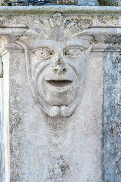 Stone Carving Photograph - Europe, Portugal, Sintra, Sintra by Lisa S. Engelbrecht