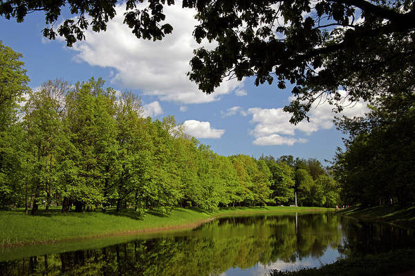 Castle Garden Photograph - Europe, Russia, Pushkin by Kymri Wilt