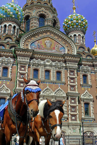 Onion Domes Photograph - Europe, Russia, St by Kymri Wilt