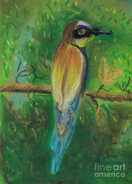 Wall Art - Painting - European Bee Eater by Pamela  Meredith