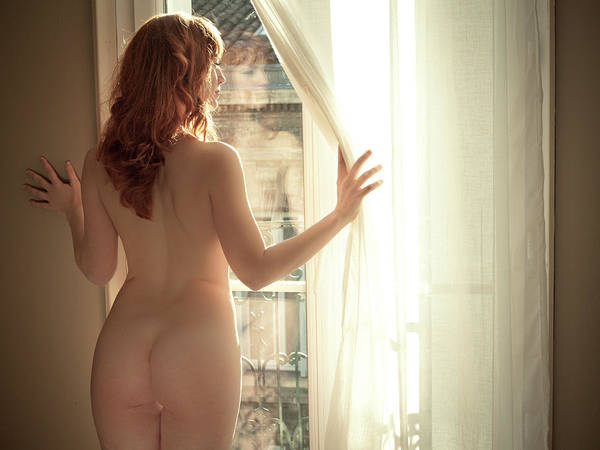 Window Photograph - Eurynoma? by Jeremie Mazenq