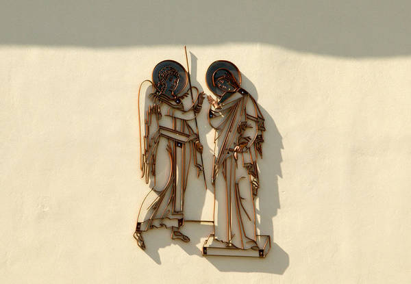 Ortodox Wall Art - Photograph - Evangelismos Chatedral Relief by Dusan Srbljin