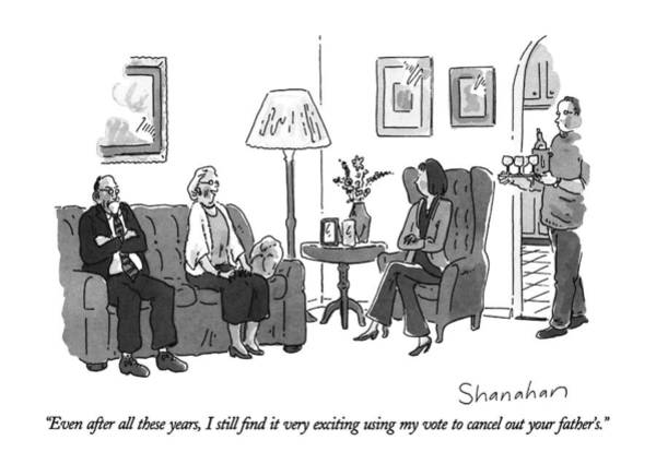 November 11th Drawing - Even After All These Years by Danny Shanahan