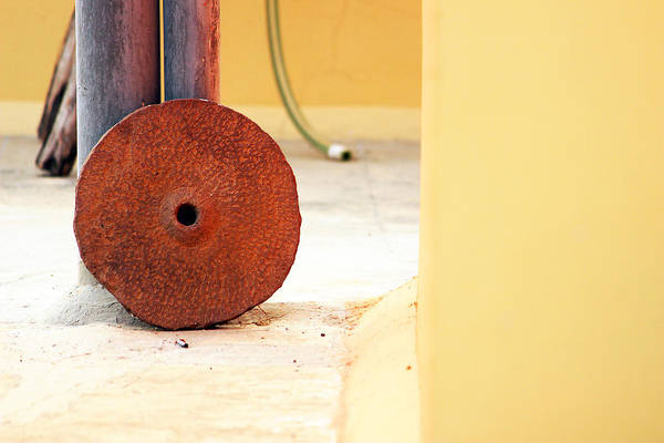 Juxtaposition Photograph - Even Circles Are Non-perfect by Prakash Ghai