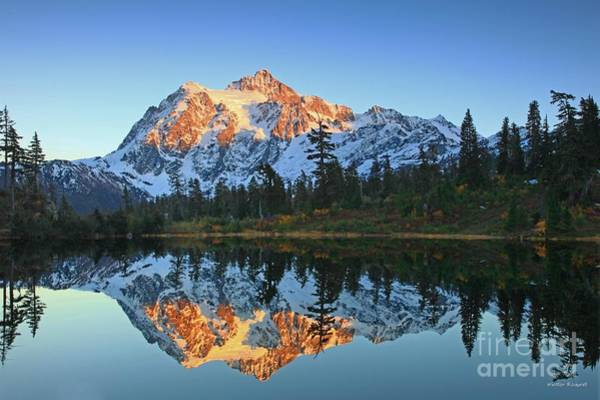 Wall Art - Photograph - Evening At An Alpine Lake by Winston Rockwell