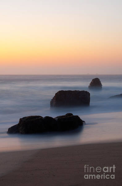 Wall Art - Photograph - Evening At Beach 5 by Catherine Lau