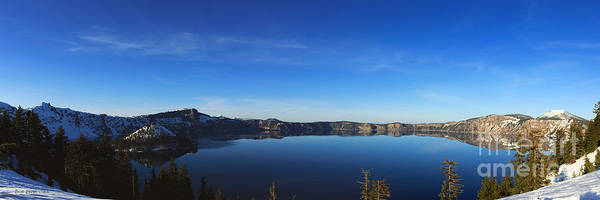 Photograph - Evening At Crater Lake by Beve Brown-Clark Photography