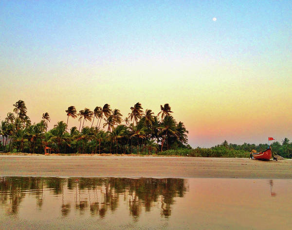 Goa Photograph - Evening At Goan Beach by Arvind Manjunath Photography
