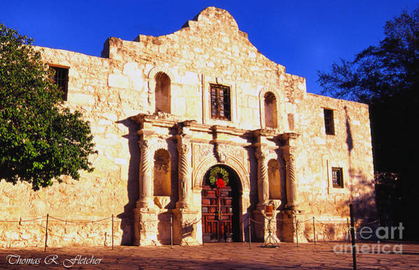Photograph - Evening At The Alamo  by Thomas R Fletcher