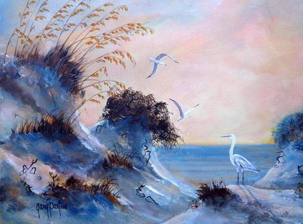 Painting - Evening Dunes by Gary Partin