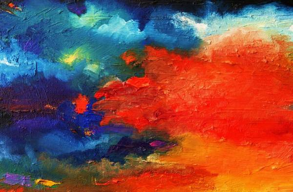 Magnificence Painting - Evening Glow by Misuk Jenkins
