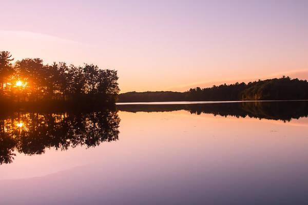 Sturgeon River Photograph - Evening Glow by Robert Torkomian